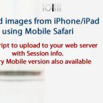 Resolve Mobile Safari Greyed out File Field Issue in iPhone/iPod/iPad by using Picup App to upload images